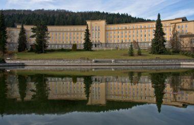 Hornická nemocnice v Erlabrunnu