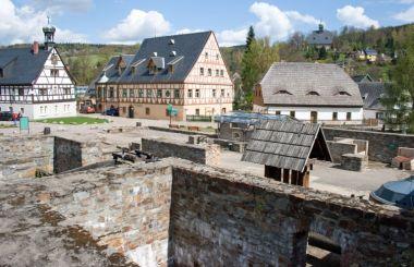 Vycezovací huť v Grünthalu