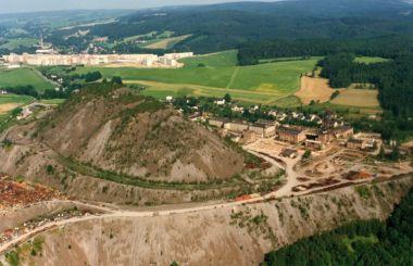 Uranium heap landscape