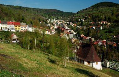 Die Berge Šance und Kloubouk