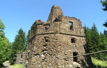 Kalkwerk in Háj bei Loučná pod Klínovcem