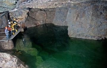 Důl Vereinigt Zwitterfeld v Zinnwaldu