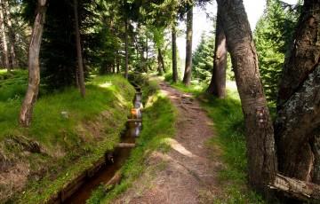 Horní Blatná water ditch