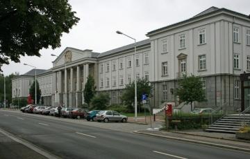 Ředitelství podniku Wismut v Chemnitzu