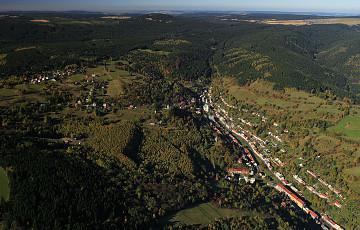 Historische Altstadt von Jáchymov (St. Joachimsthal)