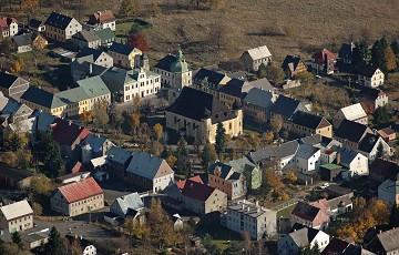 Historische Altstadt Horní Blatná/Platten