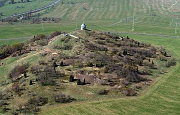 Hornická krajina na vrchu Mědník