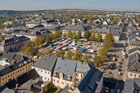 Historické centrum města Marienberg
