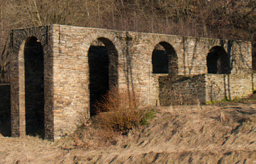 Ore Canal, related mines and Halsbrücke smeltery