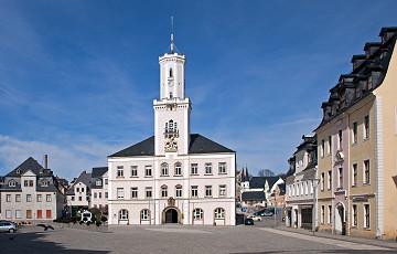Historische Altstadt Schneeberg